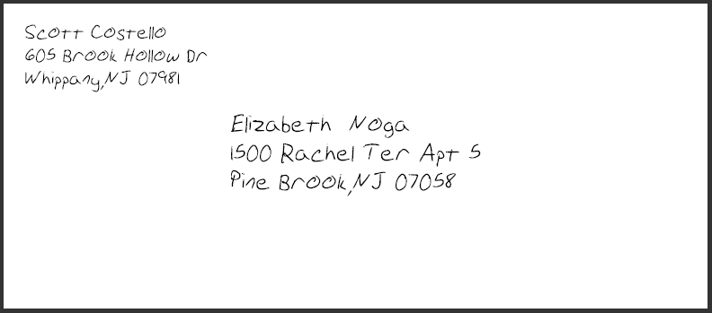 How to write out a letter envelope heartpulsar how expocarfo Images