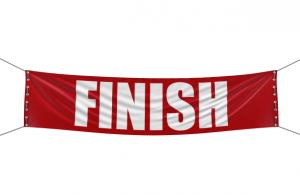 finishing what you start