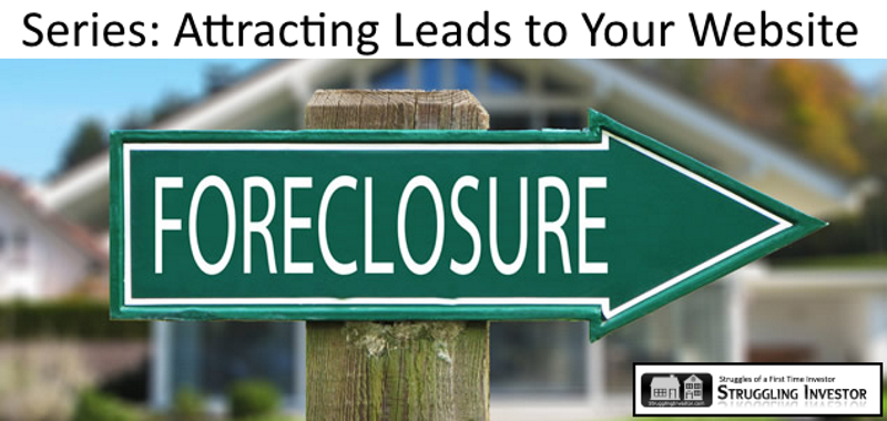 Pre Foreclosure leads