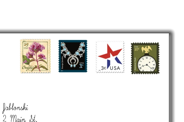 direct mail stamps